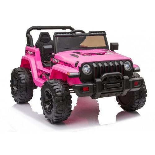 Auto na akumulator CH9956 Różowy