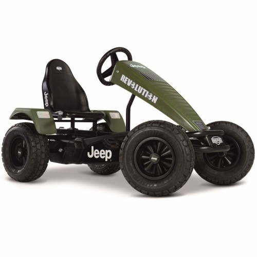 BERG Tereonowy Gokart Na Pedały Jeep Revolution do 100kg