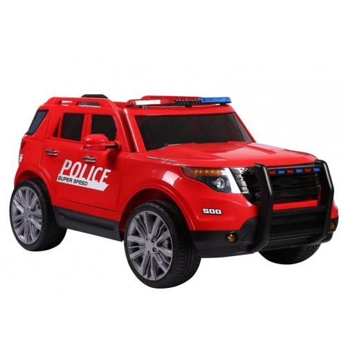 Auto na Akumulator Ford Explorer Interceptor XL Policyjny Czerwony