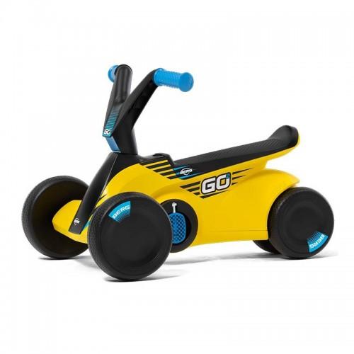 BERG Jeździk na pedały GO² Sparx Yellow Gokart 2w1