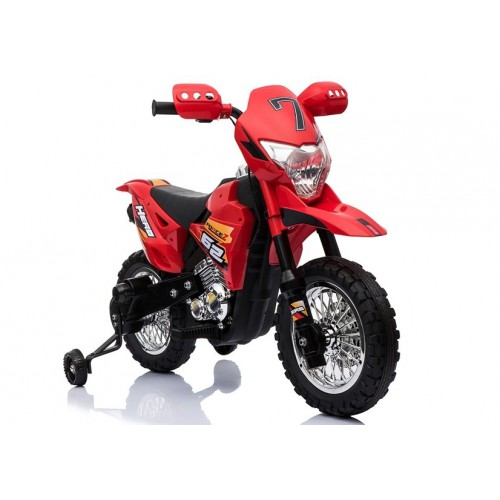 Motocykl na Akumulator Cross BDM0912 Czerwony