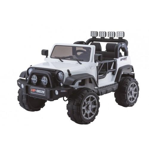 Auto na Akumulator Jeep Grand Mountain Biały