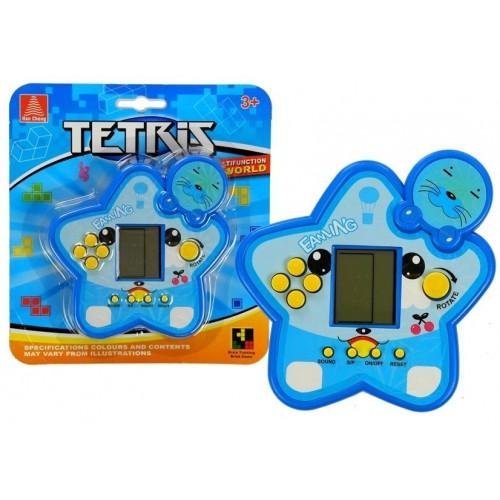 Gra Elektroniczna Tetris Gwiazdka Niebieska