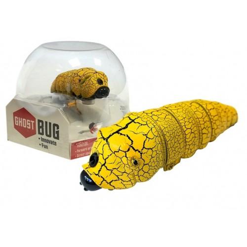 Gąsienica na podczerwień Omija przeszkody Żółta