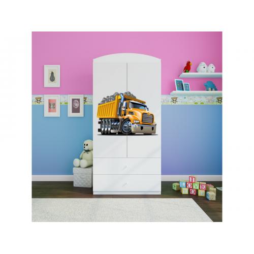 Szafa z nadrukiem, grafiką, obrazkiem kolekcja Fernando - Amerykańska ciężarówka