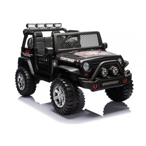 Auto samochód na akumulator JEEP 4x4 Contend Czarny