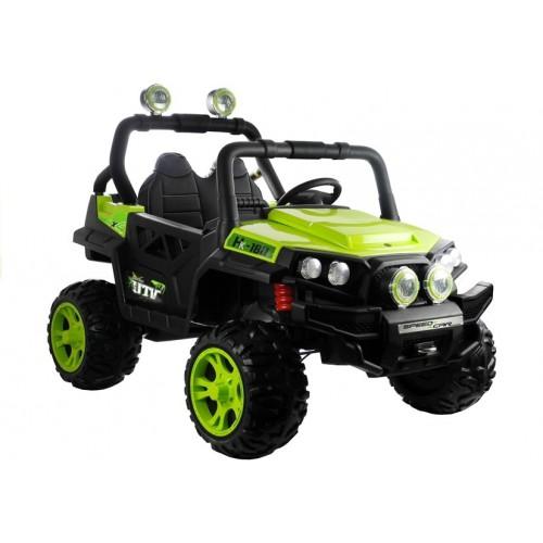 Auto Na Akumulator Buggy HELIOS 2 Zielony
