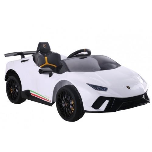 Auto na akumulator Lamborghini Huracan  Białe
