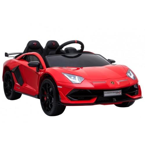 Auto na Akumulator Lambo Lamborghini Aventador Czerwony