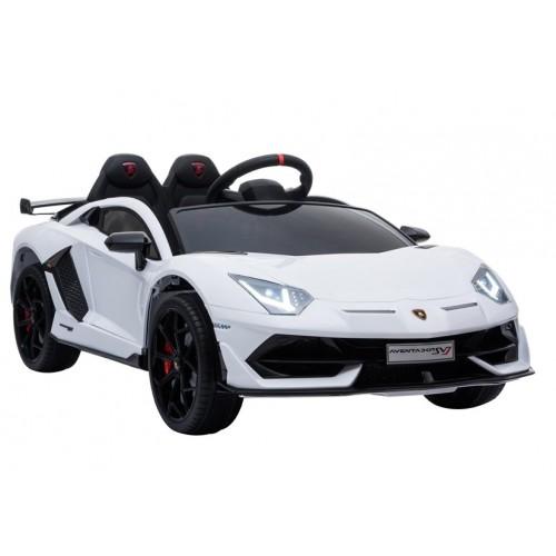 Auto na Akumulator Lambo Lamborghini Aventador Biały