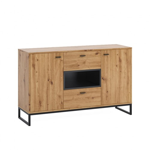 Kolekcja Elwiners V - komplet mebli loftowych komoda szafka RTV pod telewizor szafka wisząca