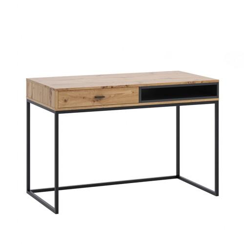 Biurko Elwiners EL8 - styl loftowy industrialny do gabinetu do pokoju młodzieżowego do sypialni