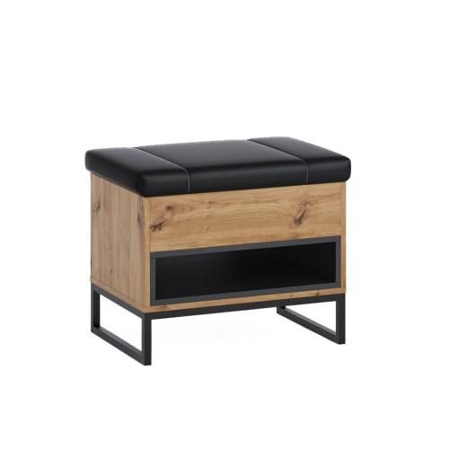 kufer Elwiners EL3 - styl loftowy industrialny do przedpokoju na korytarz