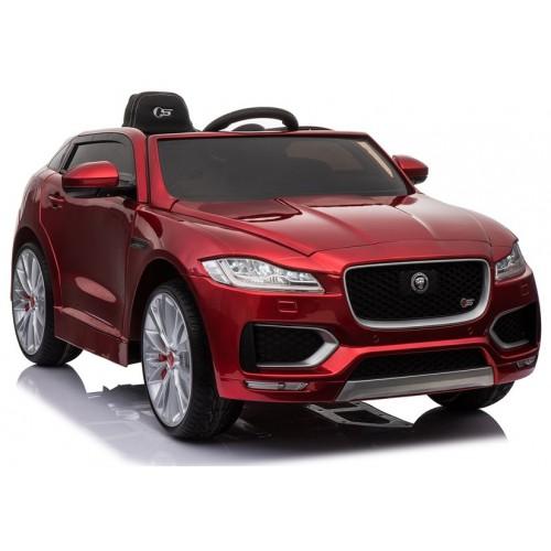 Auto na Akumulator Jaguar F-Pace Czerwony Lakierowany