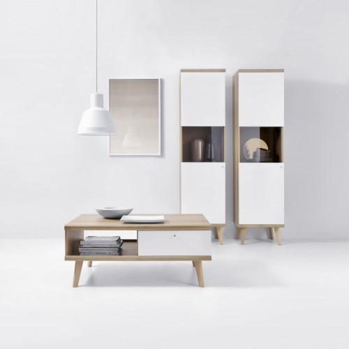 Kolekcja Giappo VI - zestaw mebli do salonu ława witryny