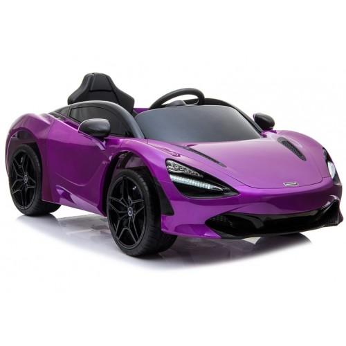 Auto na Akumulator McLaren 720S Fioletowy Lakier