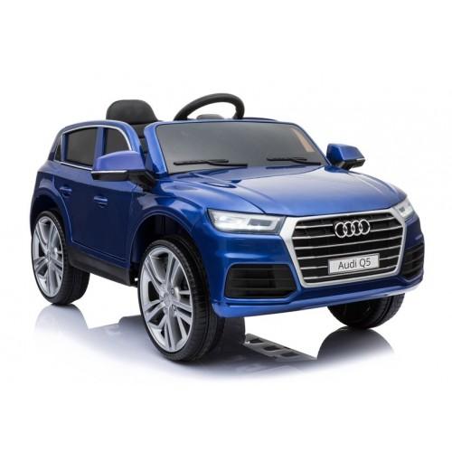 Auto Na Akumulator Audi Q5 Niebieski Lakierowany Mp3 kola EVA pilot 2,4G