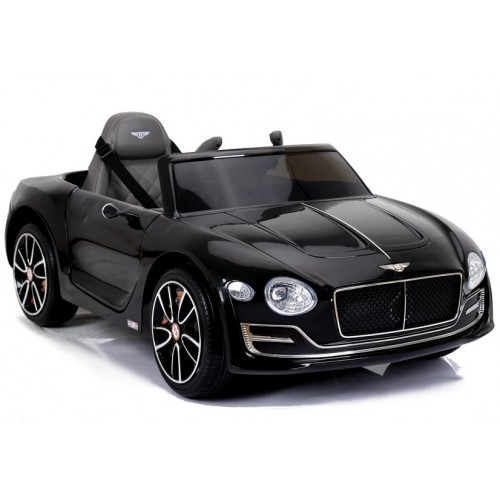 Auto na Akumulator Bentley Czarny Lakierowany USB, światła LED, koła EVA