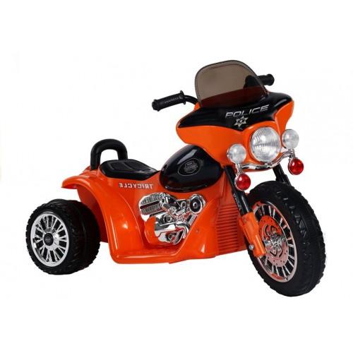 Motor na Akumulator E-Trike Pomarańczowy