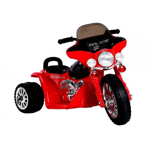 Motor na Akumulator E-Trike Czerwony