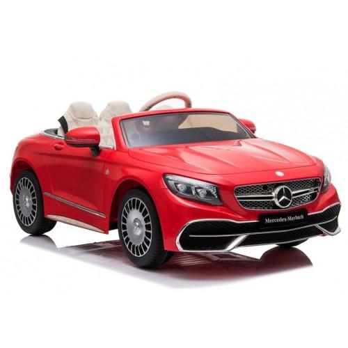 Auto na Akumulator Mercedes Maybach Czerwony klasa Premium