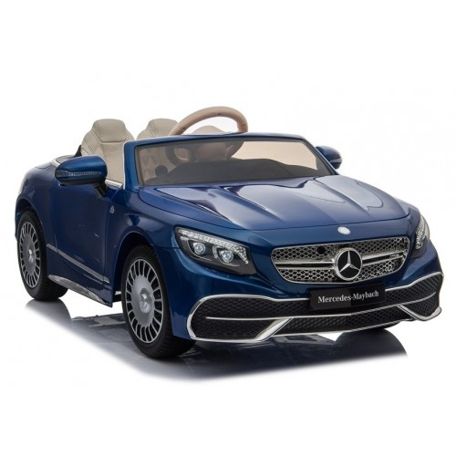 Auto na Akumulator Maybach Niebieski Lakierowany klasa Premium