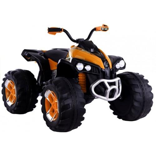 Quad  Na Akumulator Predator Pomarańczowy