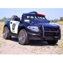 AUTO POLICJA DODGE CHARGER, DŹWIĘKI, MIĘKKIE KOŁA EVA, MIĘKKIE SIEDZENIE/JC666