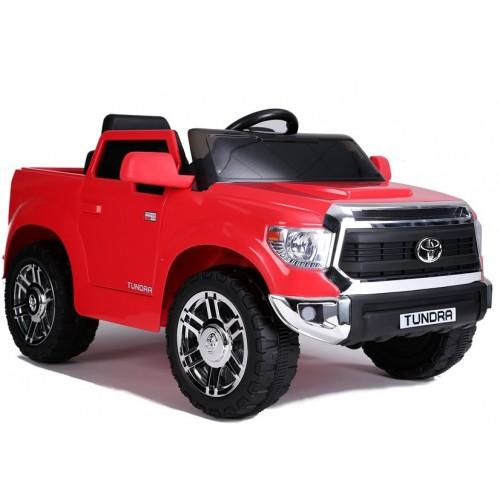 Auto na Akumulator Toyota Tundra Czerwona Lakierowana