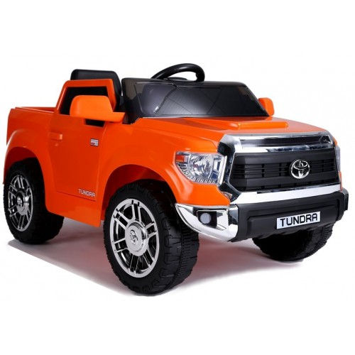 Auto na Akumulator Toyota Tundra Pomarańczowa Lakierowana