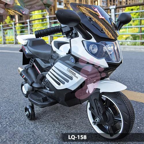 MOTOR ŚCIGACZ POWER168 - PIERWSZY MOTOREK DLA DZIECKA, ŚWIECĄCE KOŁA /X168