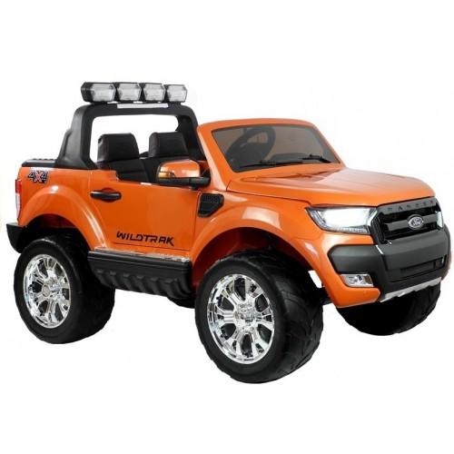 Auto na Akumulator - Ford Ranger 4x4 Pomarańczowy Popularny