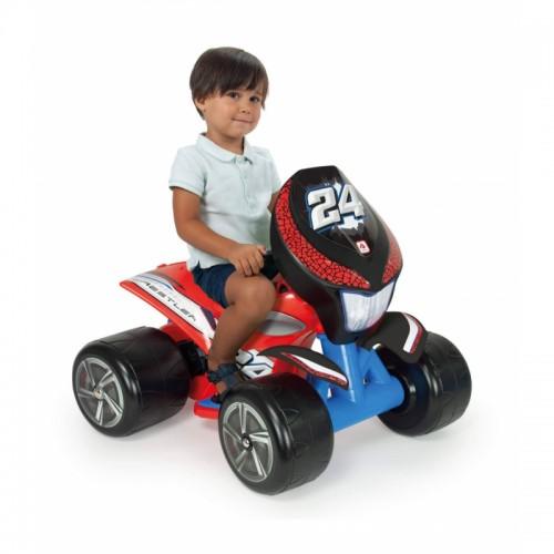 INJUSA Quad Wrestler 6V Czerwony dla Dzieci do 25kg