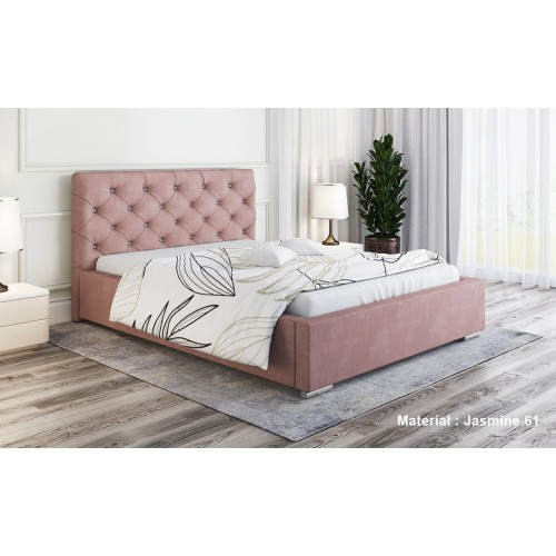 Łóżko tapicerowane Afrodyzjusz 120x200 cm