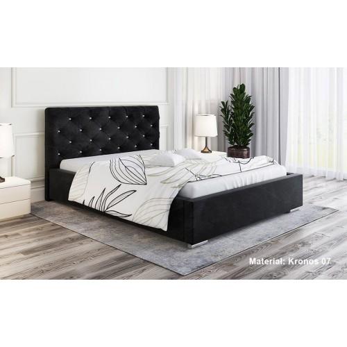 Łóżko tapicerowane Afrodyzjusz 200x200 cm