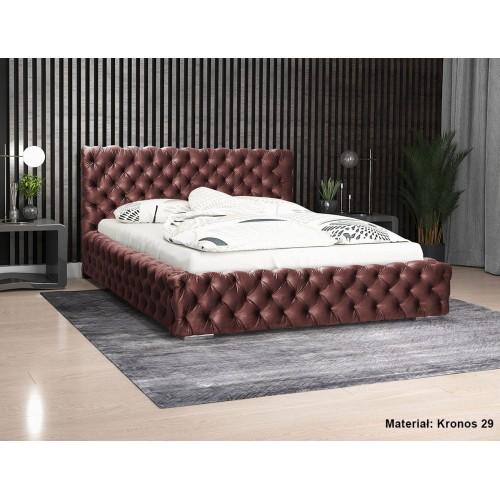 Łóżko tapicerowane Achacja 140x200 cm
