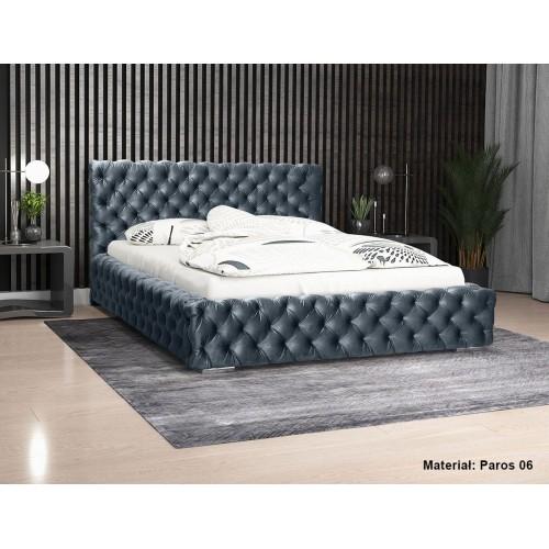 Łóżko tapicerowane Achacja 200x200 cm