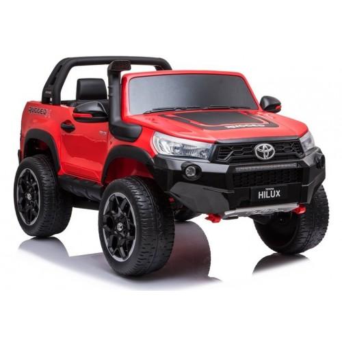 Auto na Akumulator Toyota Hilux Czerwony Lakierowany