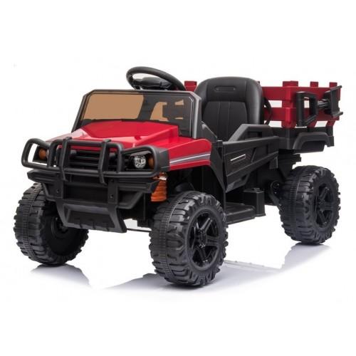 Auto na akumulator BDM0926 Czerwony