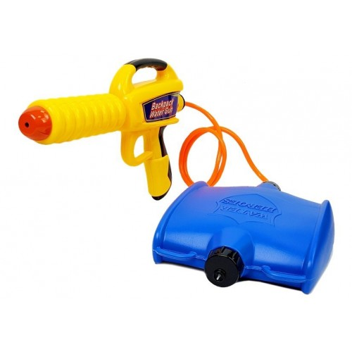 Pistolet na Wodę ze Zbiornikiem 1080 ml Żółto- Niebieski