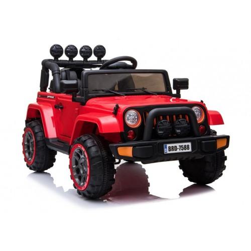Auto na Akumulator  Jeep Wrangler Czerwony