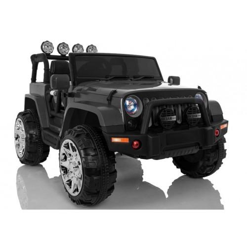 Auto na Akumulator Jeep 4x4 Wrangler Sahara NOWY Czarny