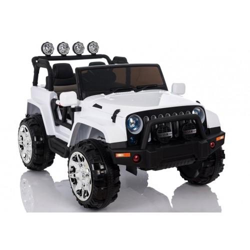 Auto na Akumulator Jeep 4x4 Wrangler Sahara NOWY Biały