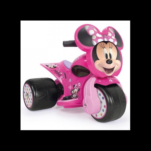 INJUSA Trzykołowiec Myszka Minnie Samurai 6V Jeździk dla Dzieci