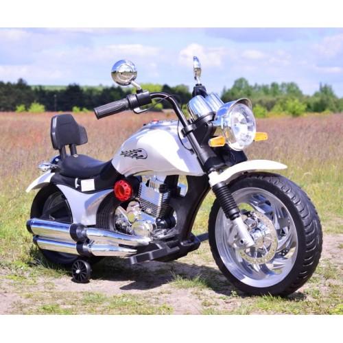 MEGA MOTOR CHOPPER, GAZ W MANETCE, MIĘKKIE SIEDZENIE/BLF916