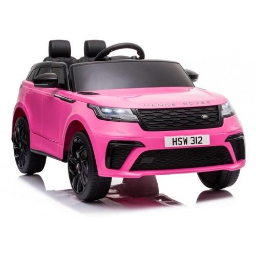 Auto na Akumulator Range Rover Rózowy