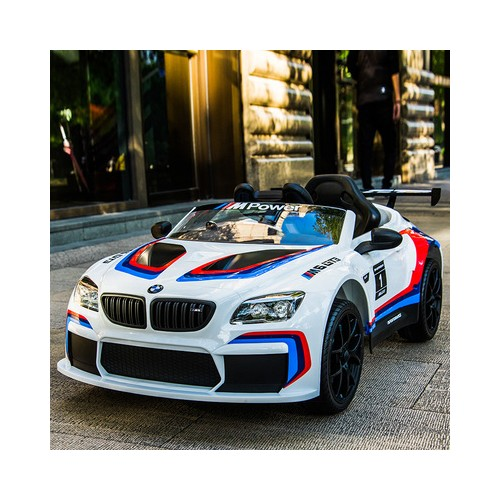 Auto na Akumulator BMW M6 GT3 Biała Licencja Bayerische Motoren Werke AG