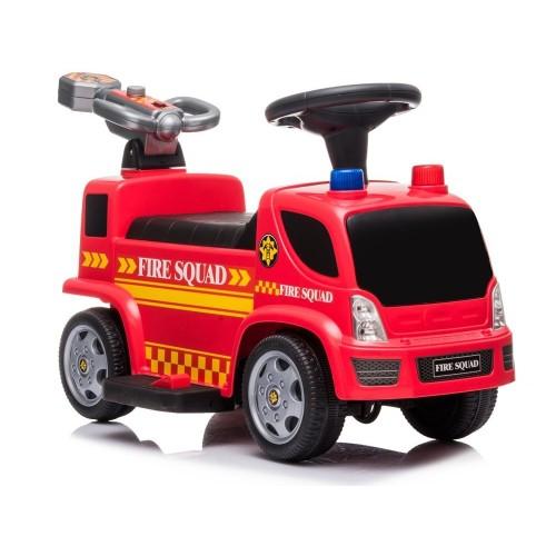 Pojazd Jeździk Straż Pożarna Armatka Bańki Mydlane Dźwięki Koguty Podpórka Na Akumulator