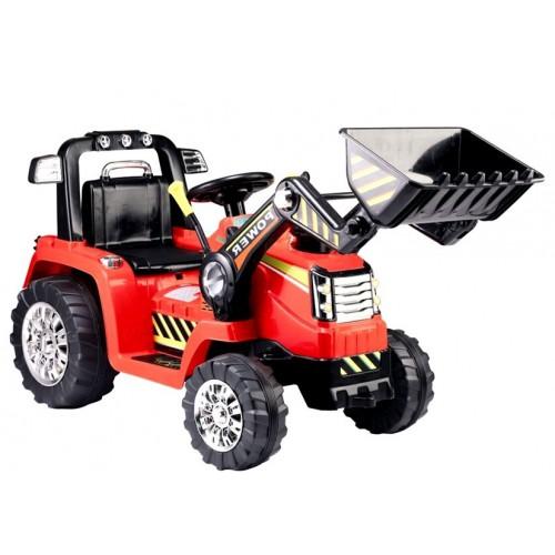 Traktor Koparka na Akumulator Belarus Czerwony