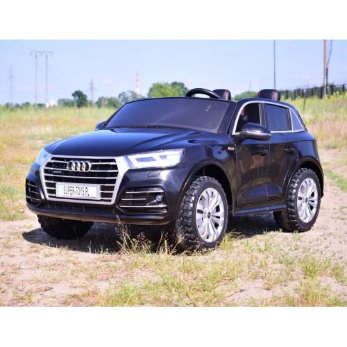 Auto na Akumulator Nowe Audi Q5 2-osobowe Czarne Lakierowane 4x4